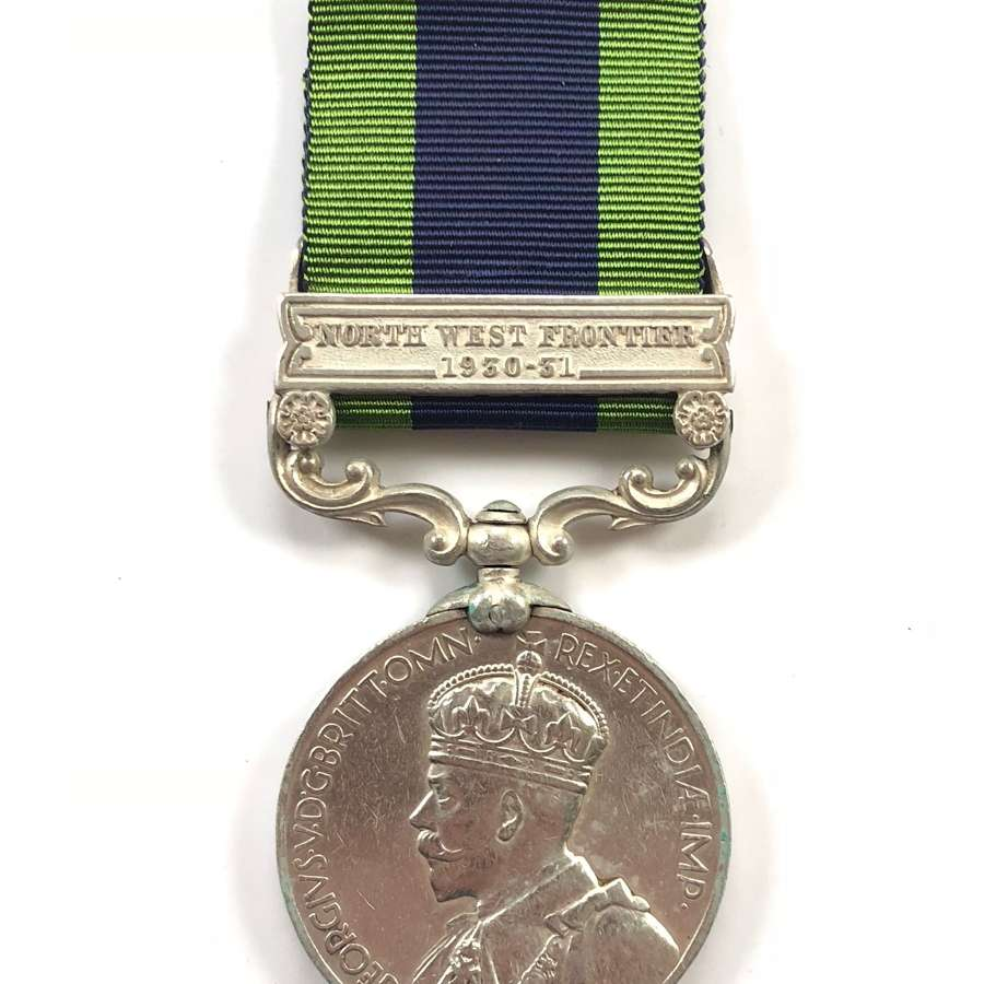 South Waziristan Scouts India General Service Medal.