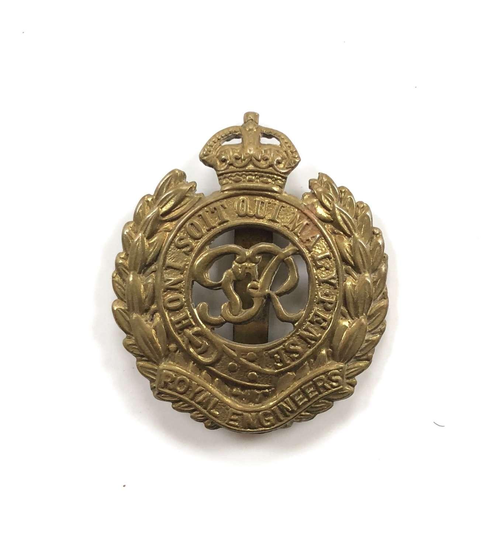 WW2 Pattern Royal Engineers Cap Badge.