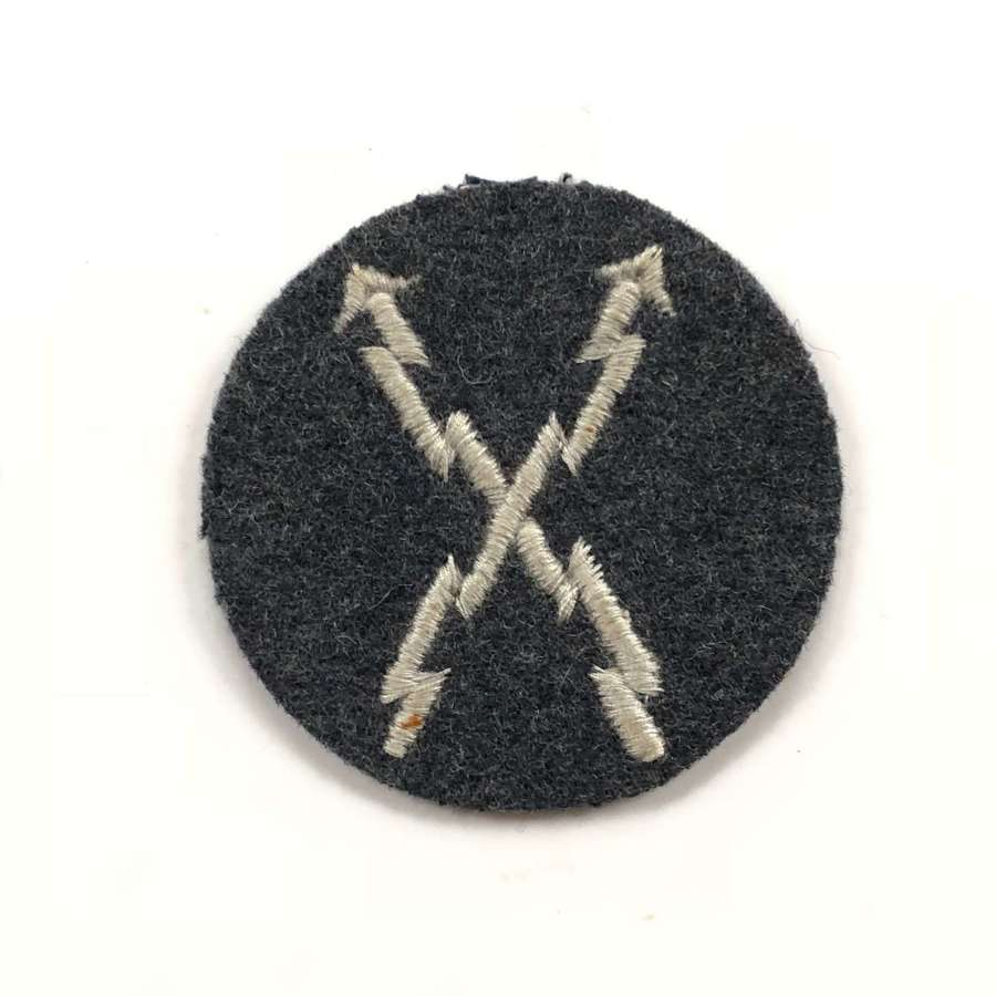 WW2 German Luftwaffe Teletype Operators Trade Badge
