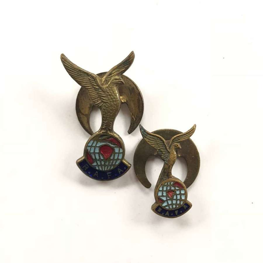 Vintage RAFA Royal Air Force Association Lapel Badges.