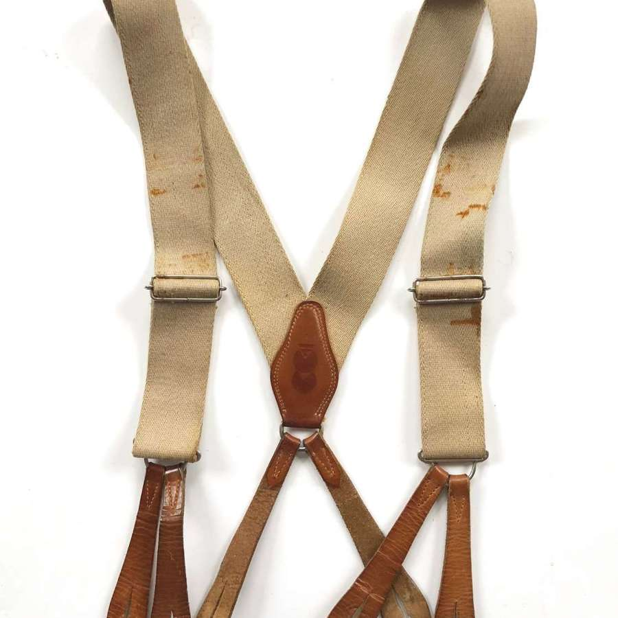 WW2 Period CC41 Utility Braces.