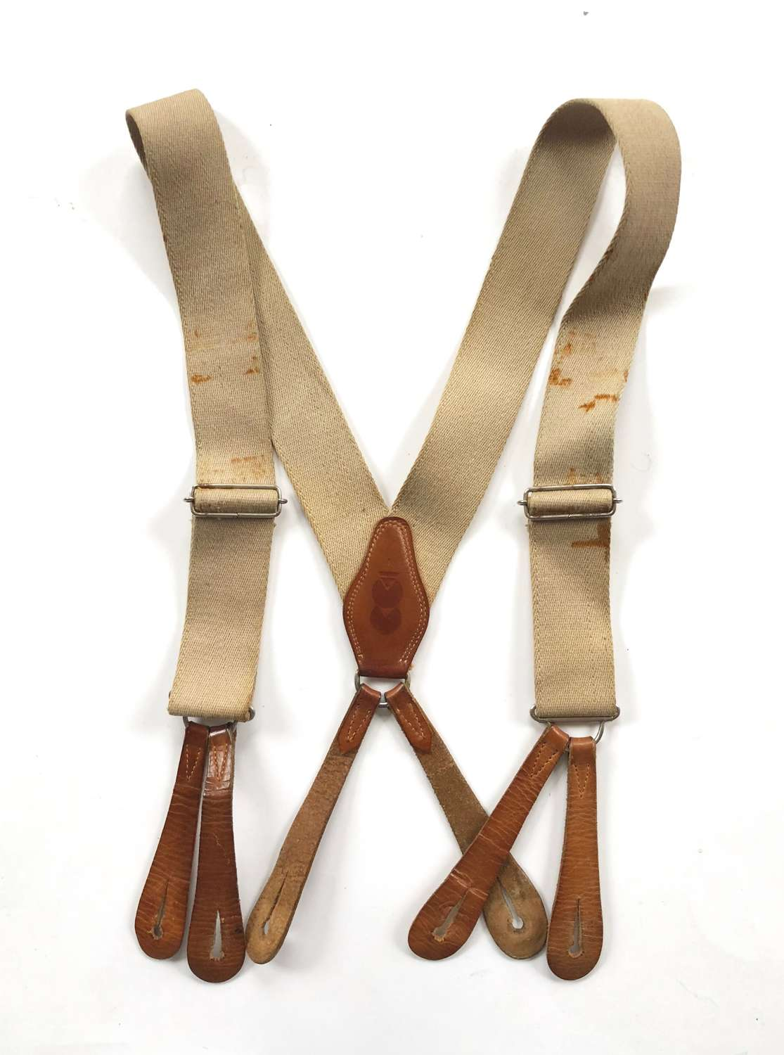WW2 Period CC41 Utility Braces.