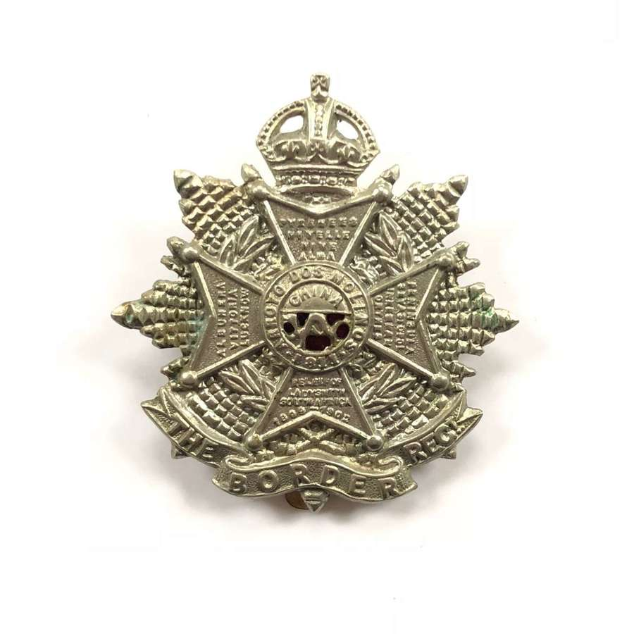 WW1 / WW2 Pattern Border Regiment Cap Badge.