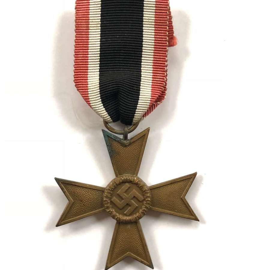 WW2 German War Merit Cross Without Swords.