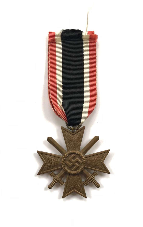 WW2 German War Merit Cross With Swords.