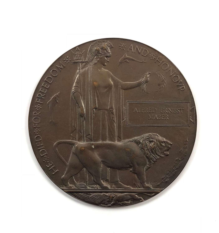 WW1 1914 Royal Engineers Memorial Plaque.