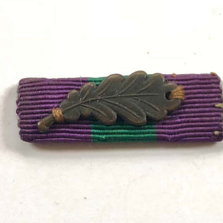 General Service Medal, MID Oak Leaf Uniform Ribbon.