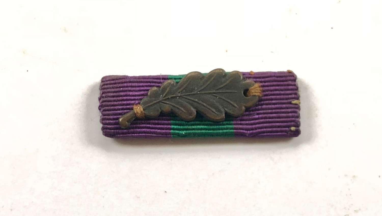General Service Medal, MID Oak Leaf Uniform Ribbon.