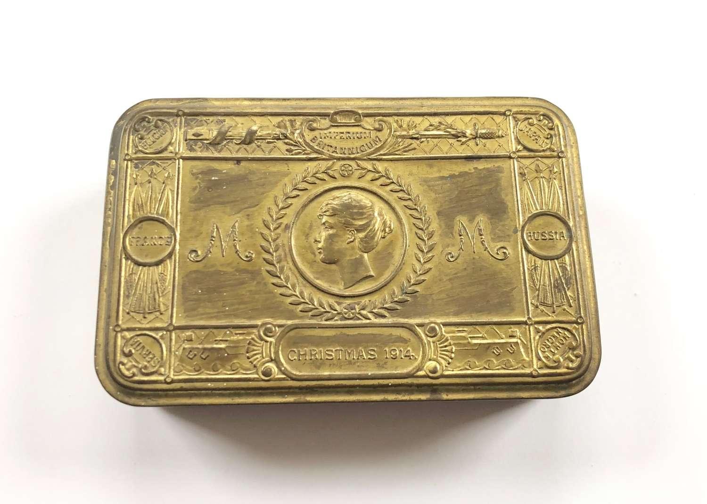 WW1 1914 Princess Mary Gift Tin.