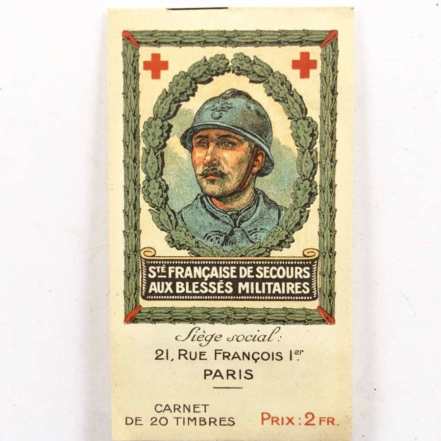 WW1 French Army Red Cross Fund Stamps.