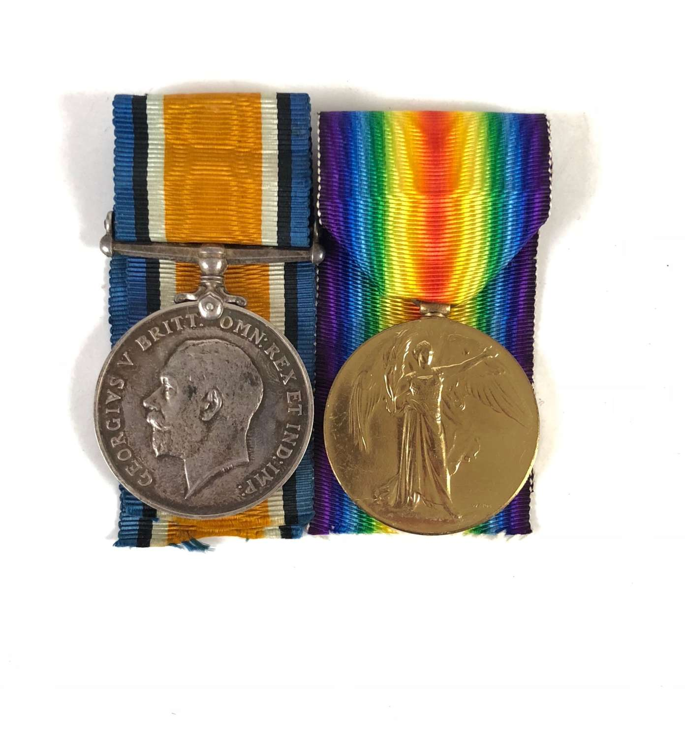 WW1 Officer's Medal Pair  Royal Field Artillery.