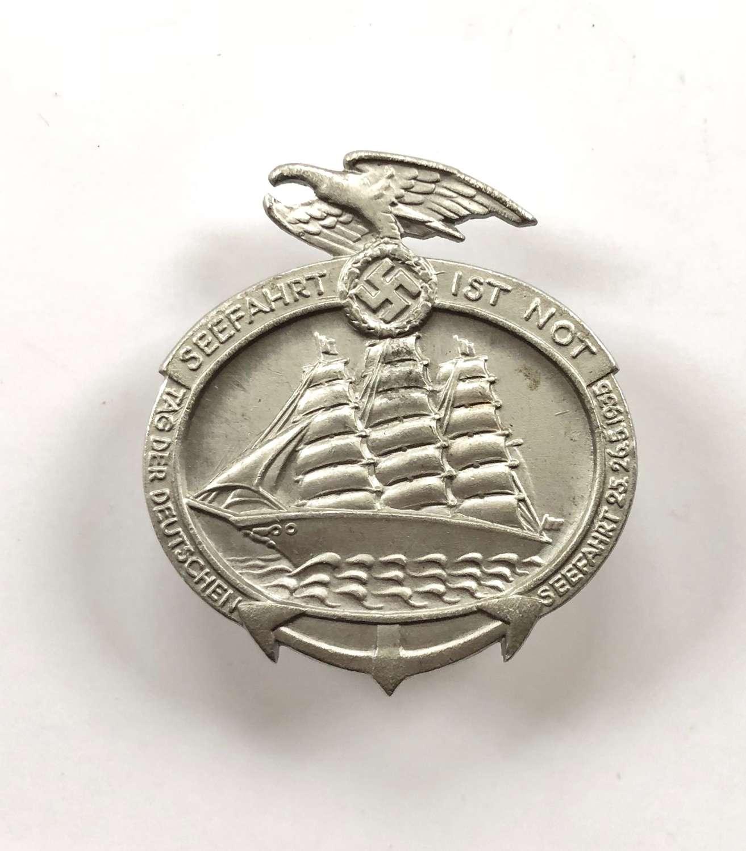 "German 1935 Fund Raising ""Tinnie"" Badge."
