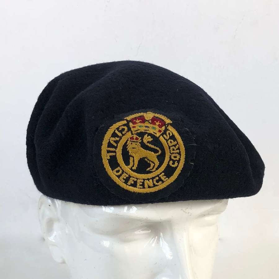 Cold War Home Front 1951 Civil Defence Beret,