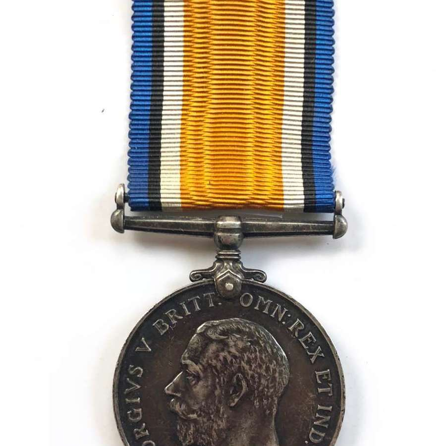 WW1 Northumberland Fusiliers British War Medal.