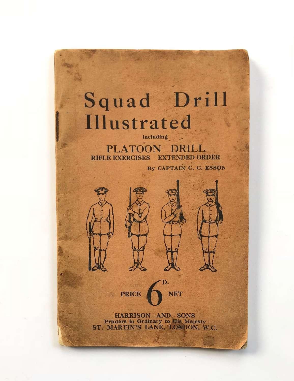 WW1 Squad Drill Illustrated Book.