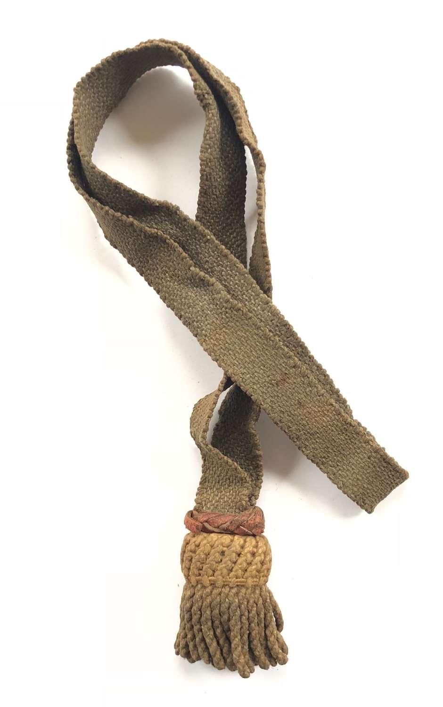 WW1 Imperial German Bayonet Knot.