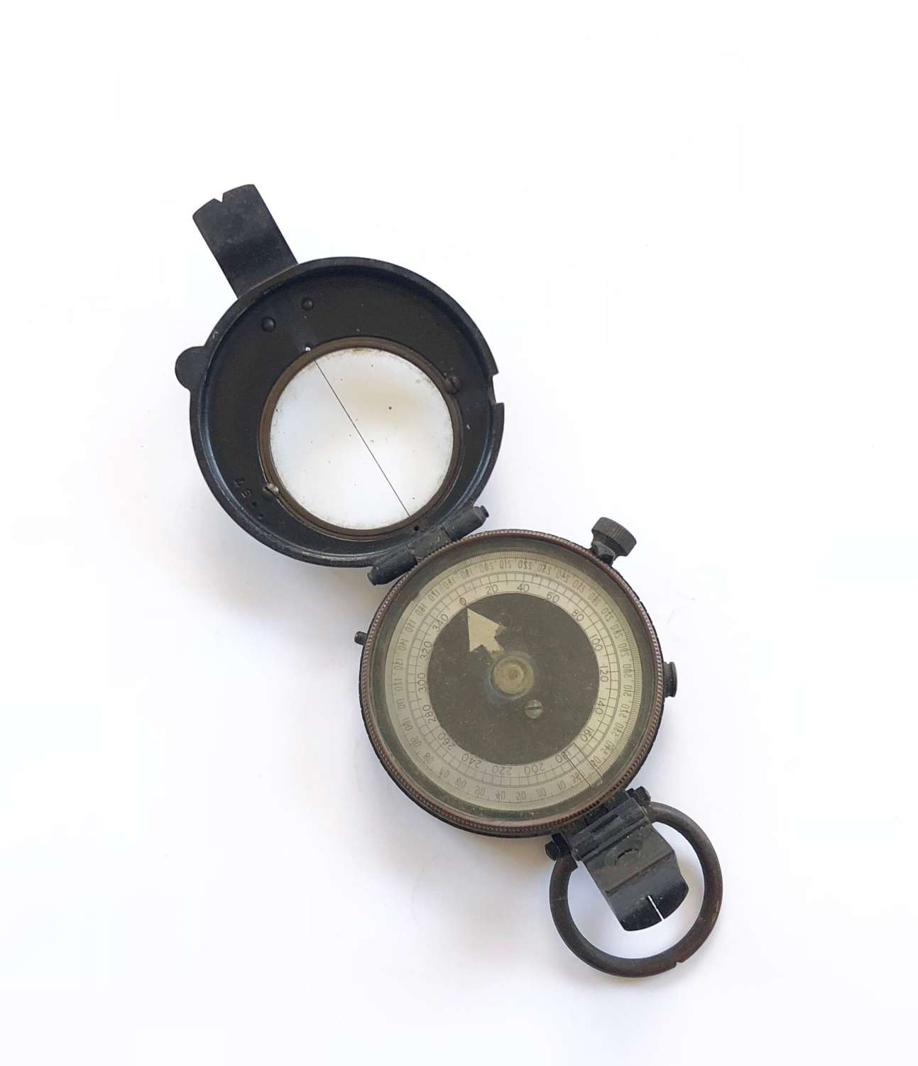 WW1 Battle of the Somme Period 1916 Marching Compass.