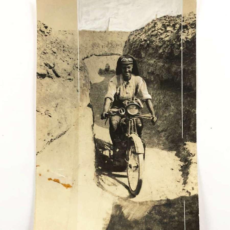 WW1 Gallipoli Royal Naval Division Press Photograph.