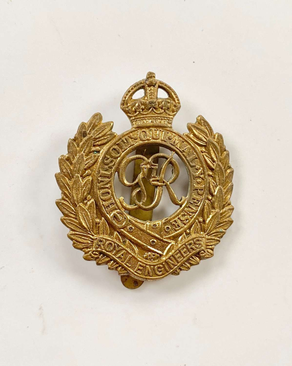 WW2 Royal Engineers Cap Badge.