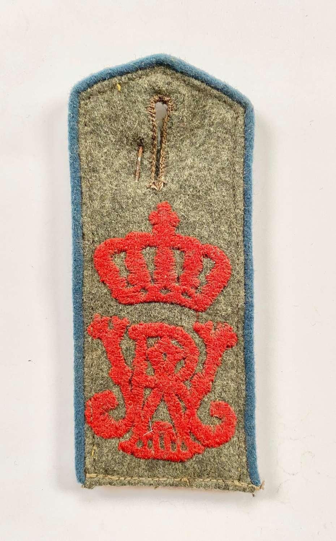 WW1 Imperial German Tunic Shoulder Strap.