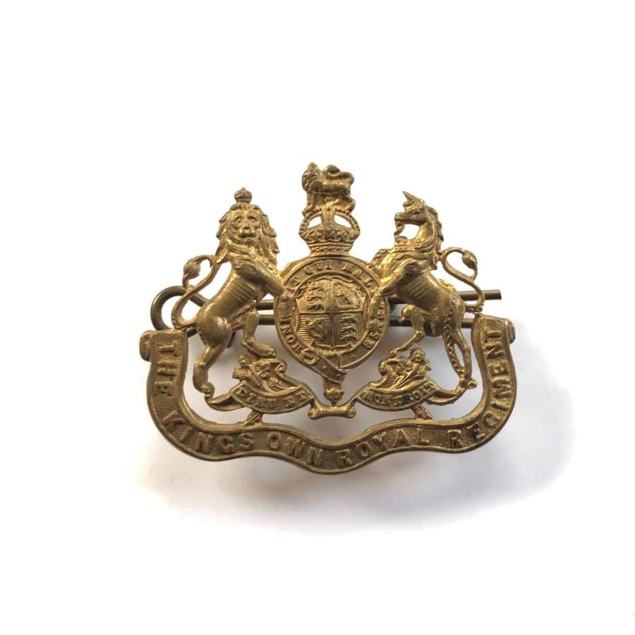 King's Own Norfolk Yeomanry Other Rank's Collar Badge.