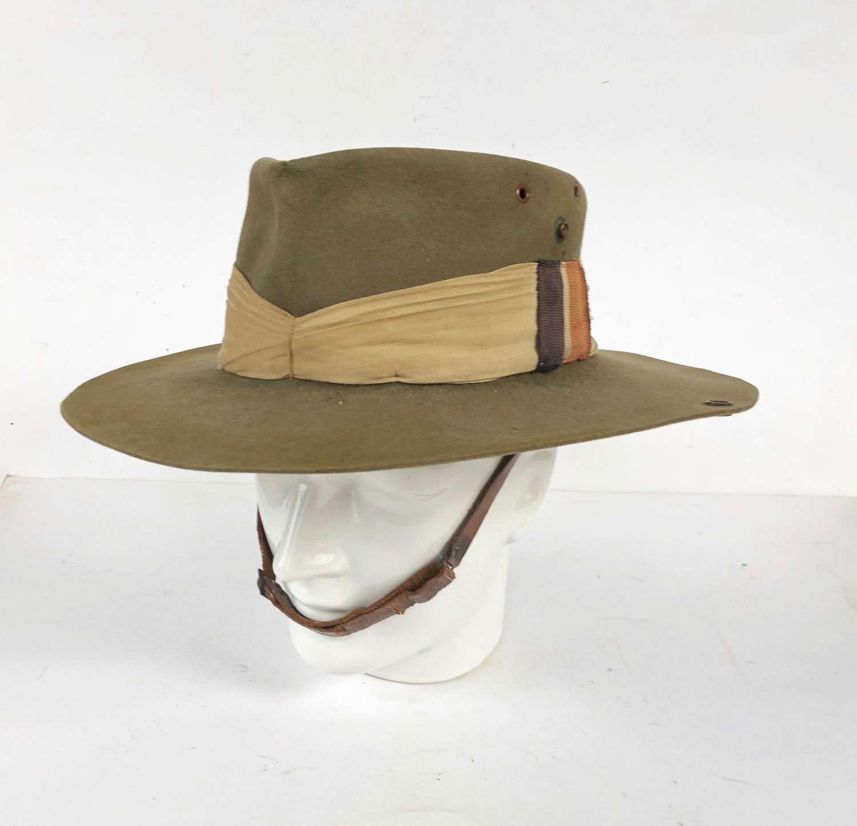 WW2 RAF Far East Slouch Hat.