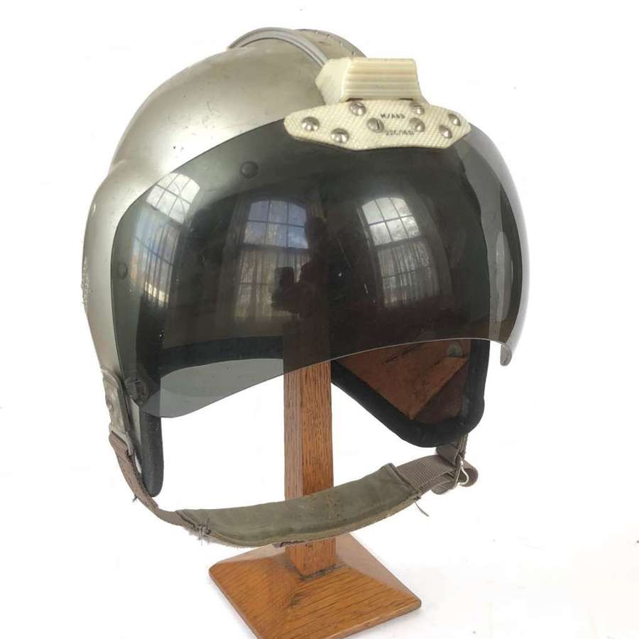 RAF / Army Air Corps Cold War MK1A Bone Dome Flying Helmet.