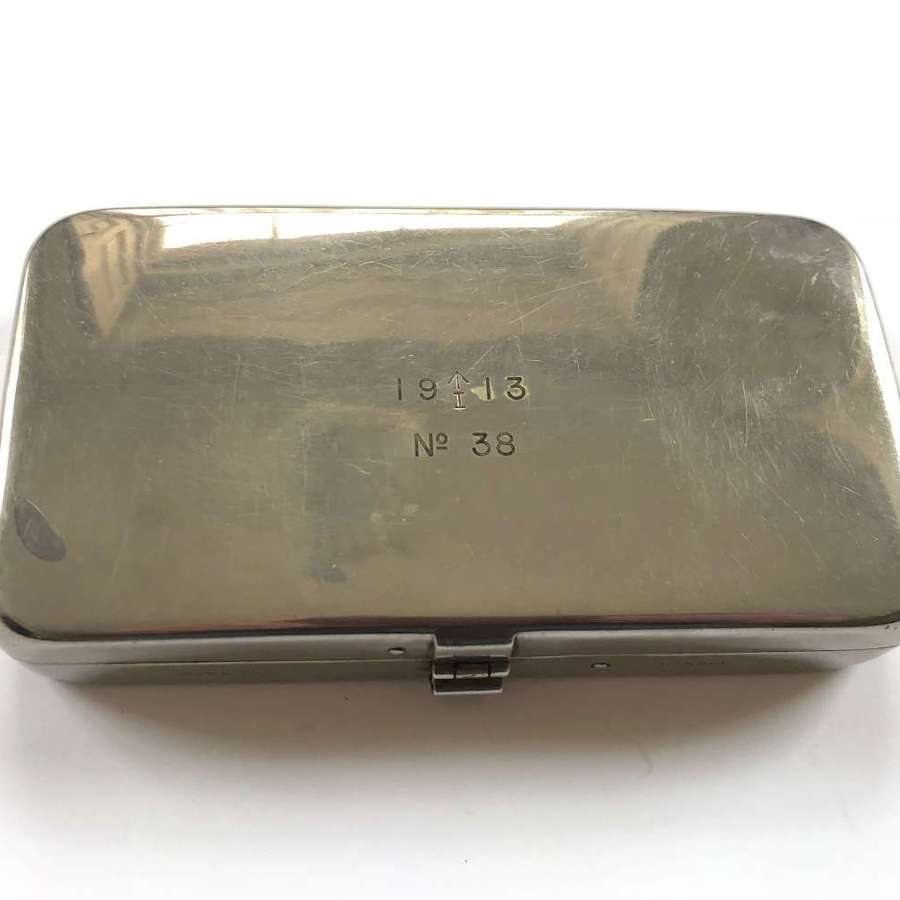 WW1 Period Indian Army Metal Case / Box.