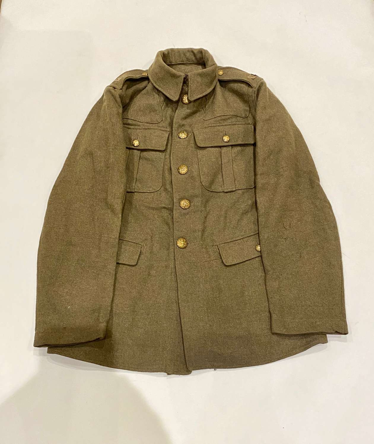 WW1 1918 Royal Field Artillery 1902 Pattern Trench Tunic.