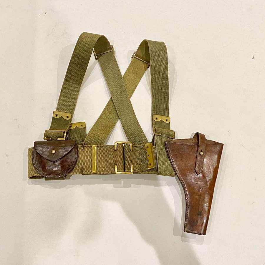 WW1 Tank Corps, Machine Gun Corps, Royal Flying Corps Pistol Set.