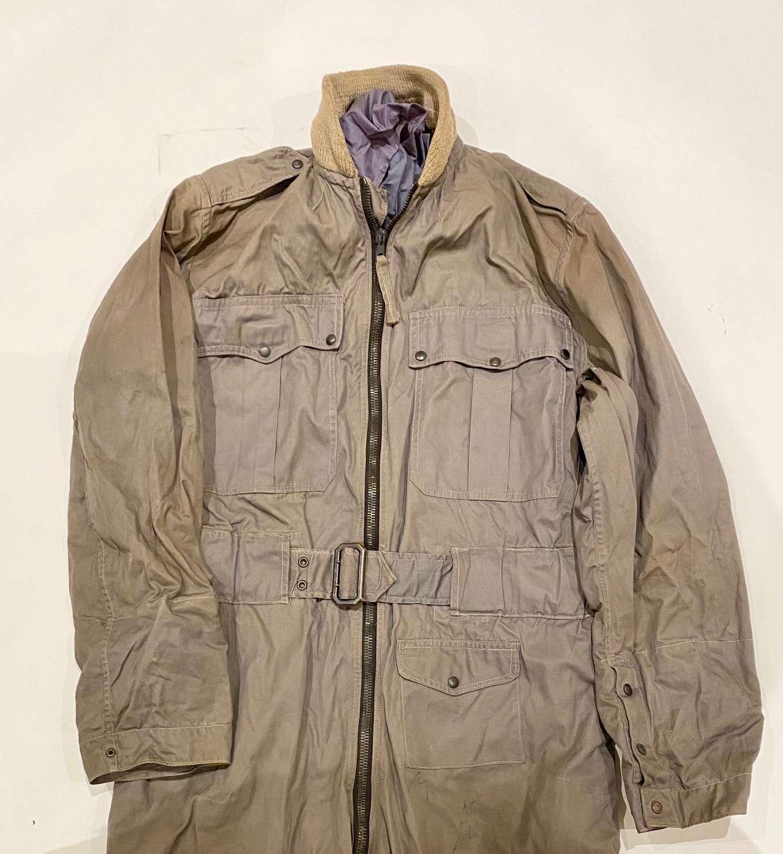 Late WW2  Cold War RAF Beadon Flying/Evasion Suit & Scarf.