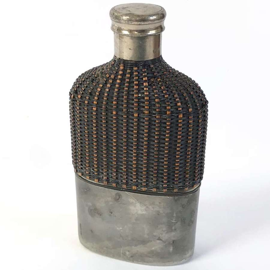 Victorian / WW1 Officer's Campaign Large spirit Flask.
