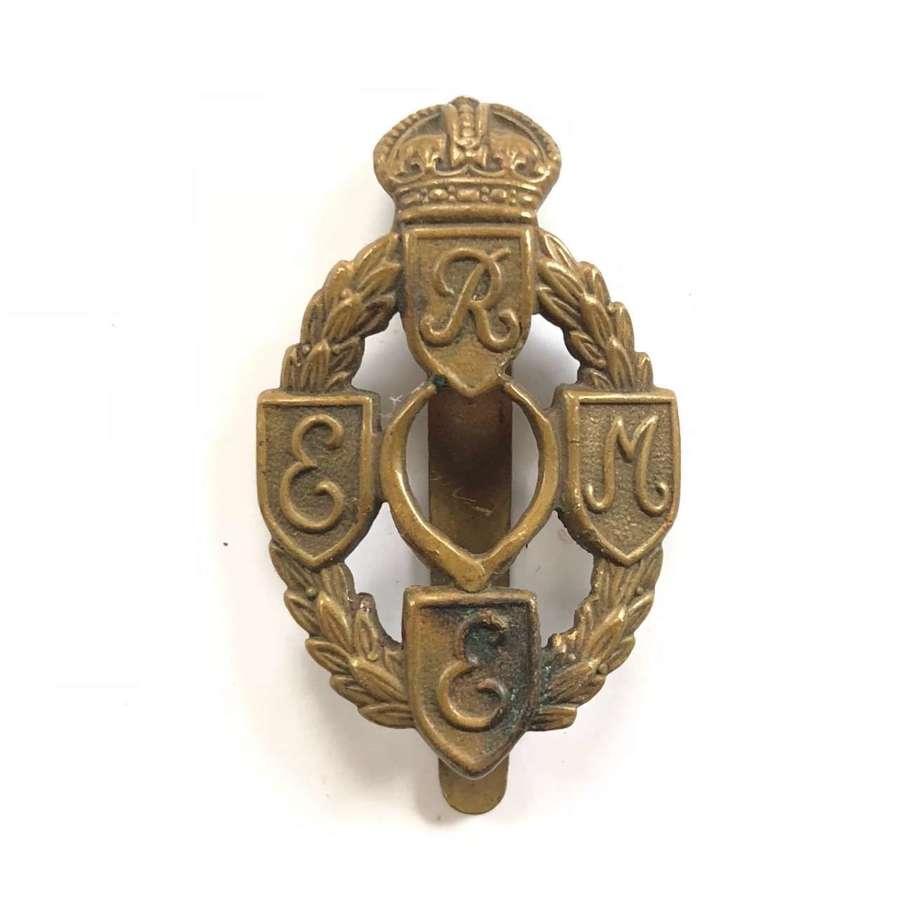 WW2 REME Cap Badge.