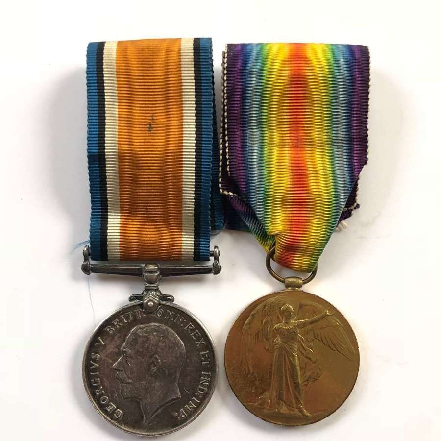 WW1 Northumberland Fusiliers Medals.