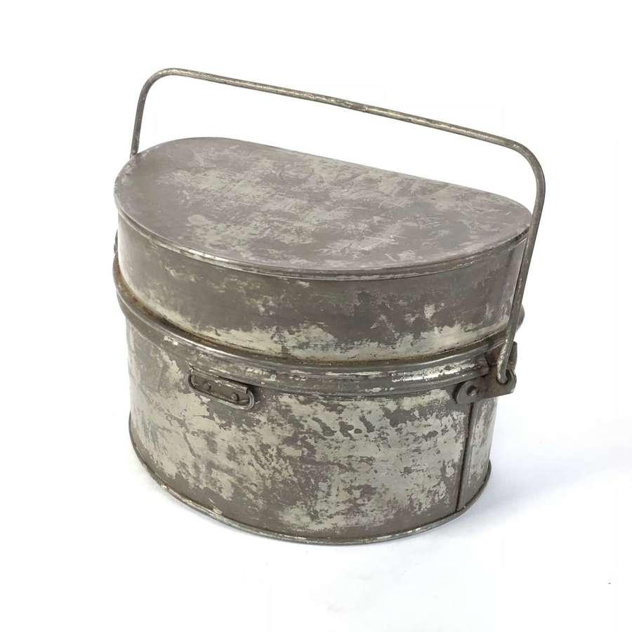 WW1 British Pattern D Shape Mess Tin.