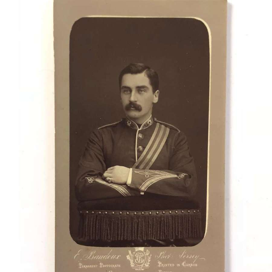 Victorian 44th (East Essex) Carte de Visite. Photograph 1879