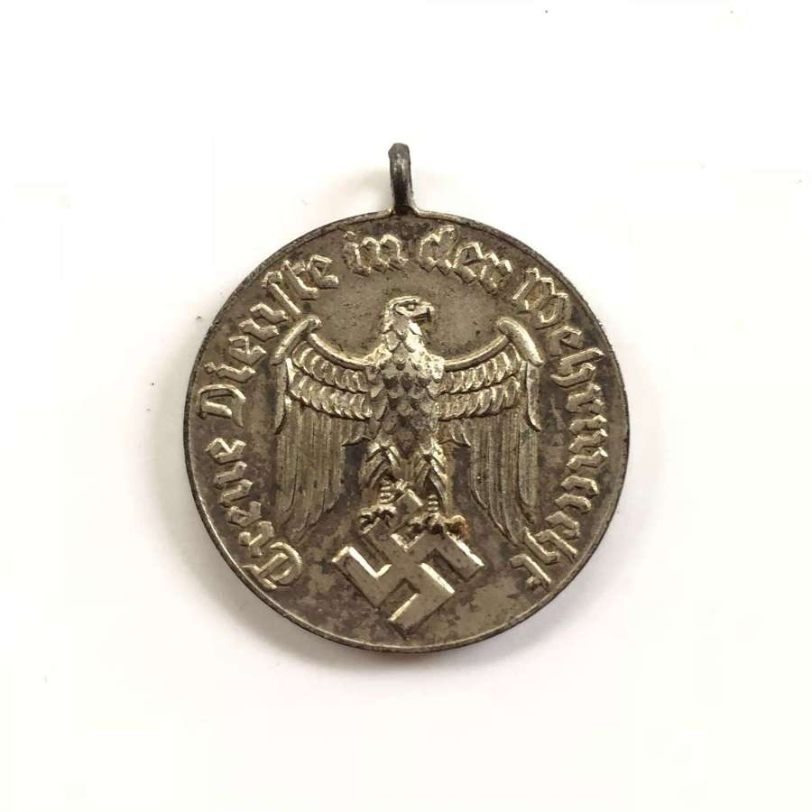 WW2 German 4 Year Service Medal.