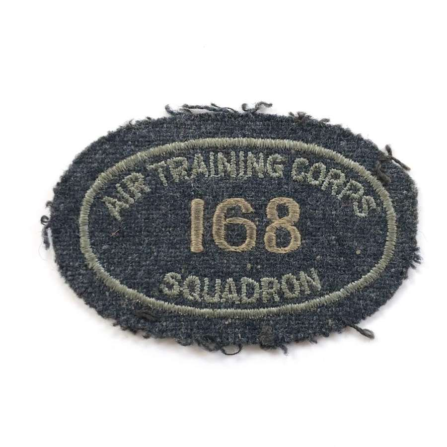 Cold War RAF 168 (City of Leeds) Squadron ATC Title.