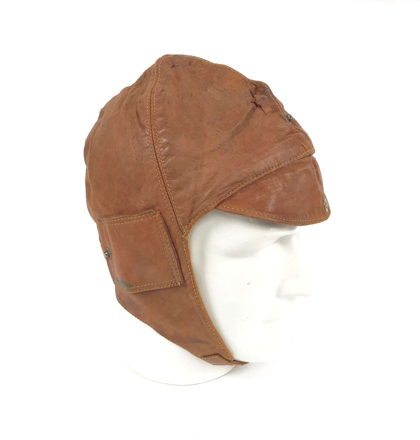WW1 Period RFC RNAS Early RAF Flying Helmet.