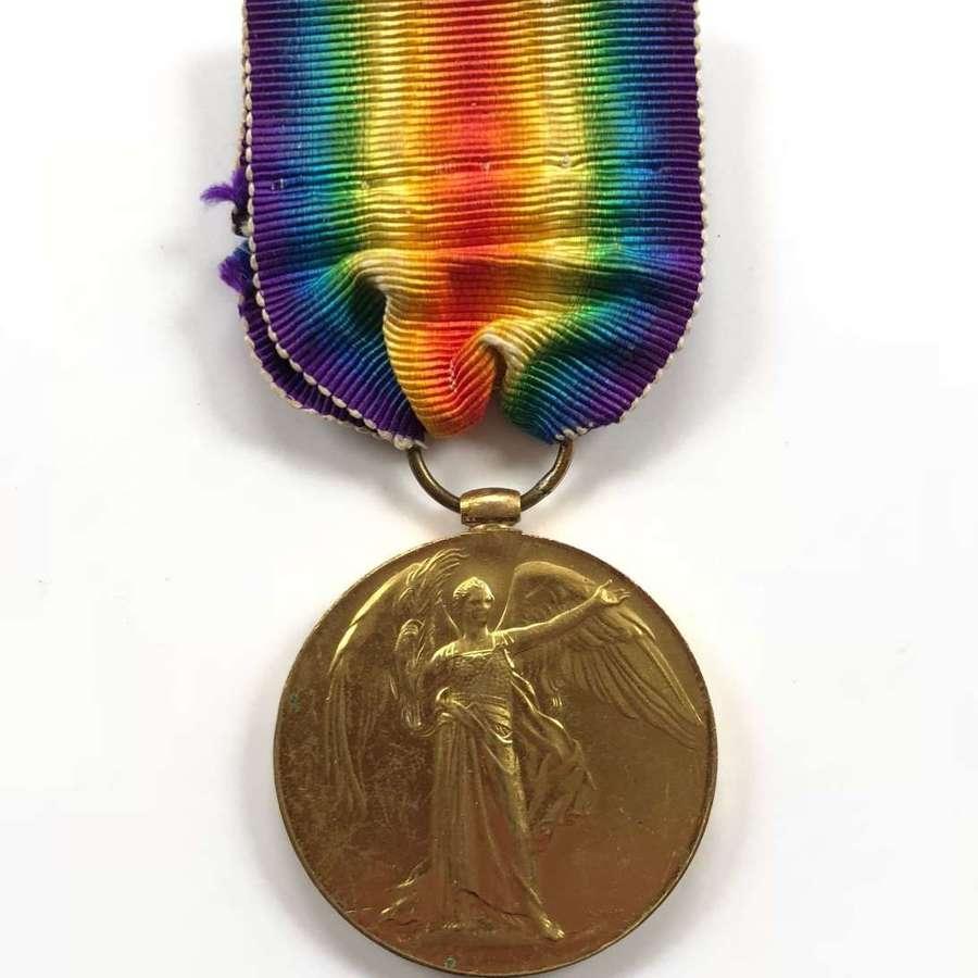 WW1 Royal Artillery Victory Medal.