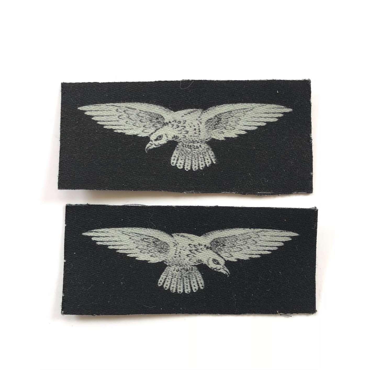 WW2 RAF Printed Shoulder Eagles.