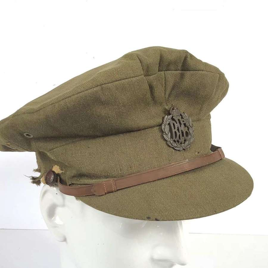WW1 Royal Flying Corps RFC Floppy Style Officer's  Trench Cap.