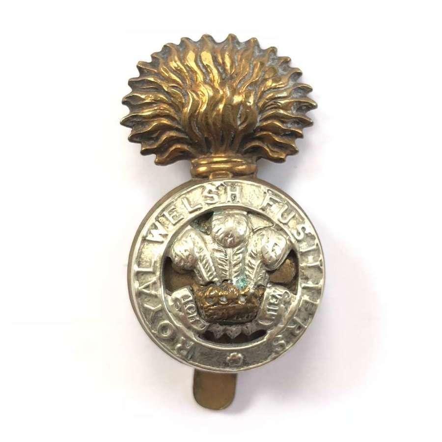 WW1 Royal Welsh Fusiliers Cap Badge.