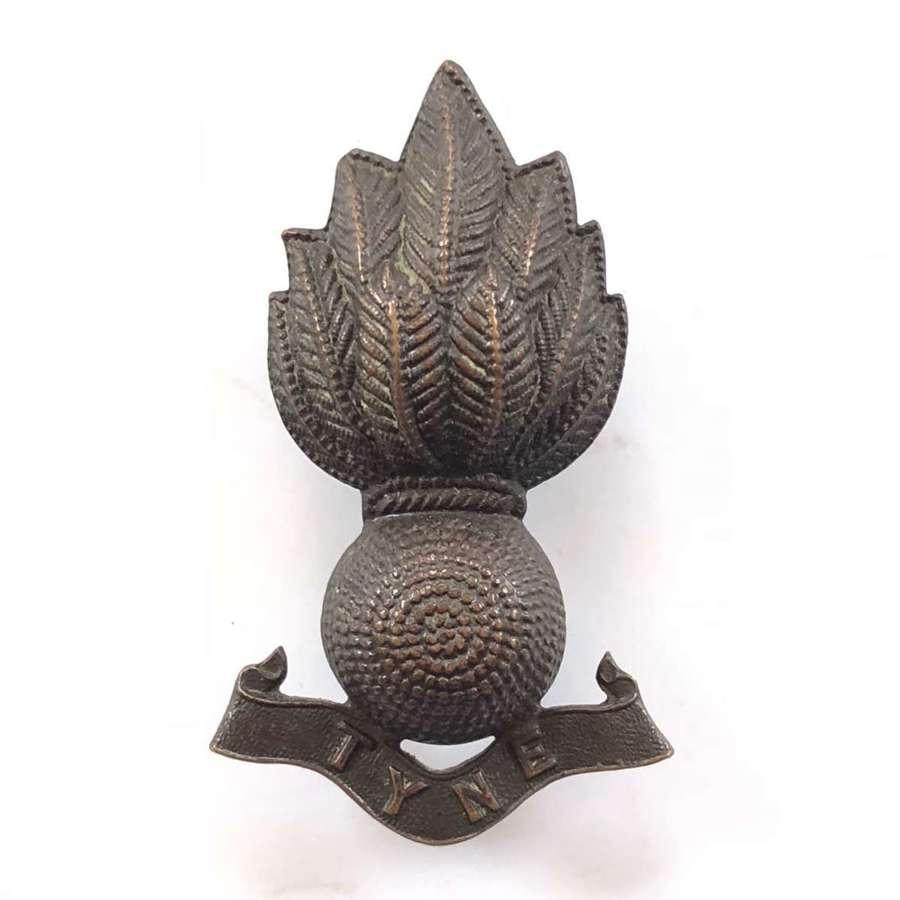 Tyne Royal Engineers Officer's OSD Collar Badge.