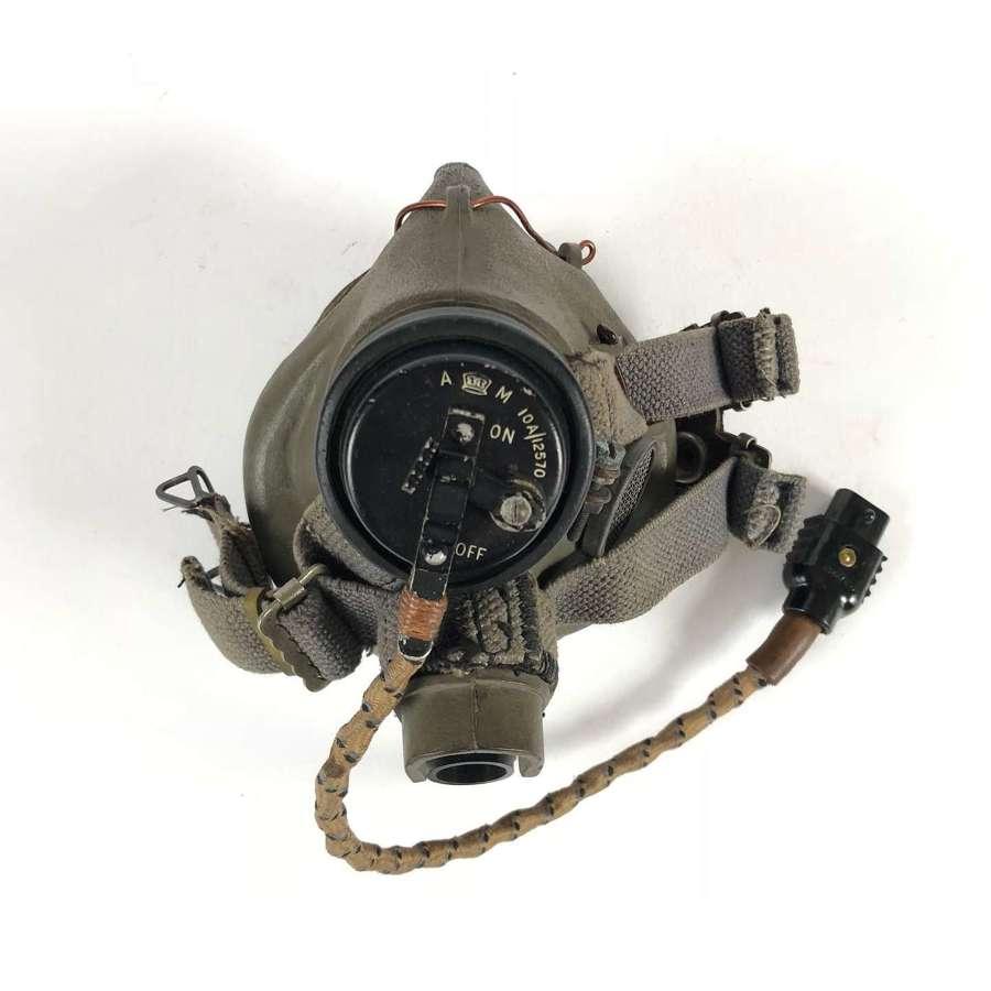 WW2 RAF Superb G Type Aircrew Oxygen Mask.