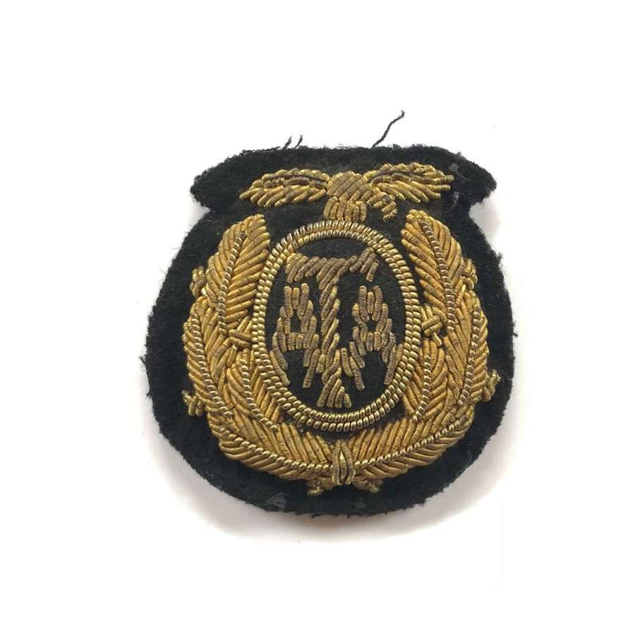 WW2 Air Transport Auxiliary ATA Bullion Cap Badge.