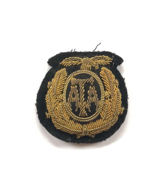 WW2 Air Transport Auxiliary ATA Bullion Cap Badge.