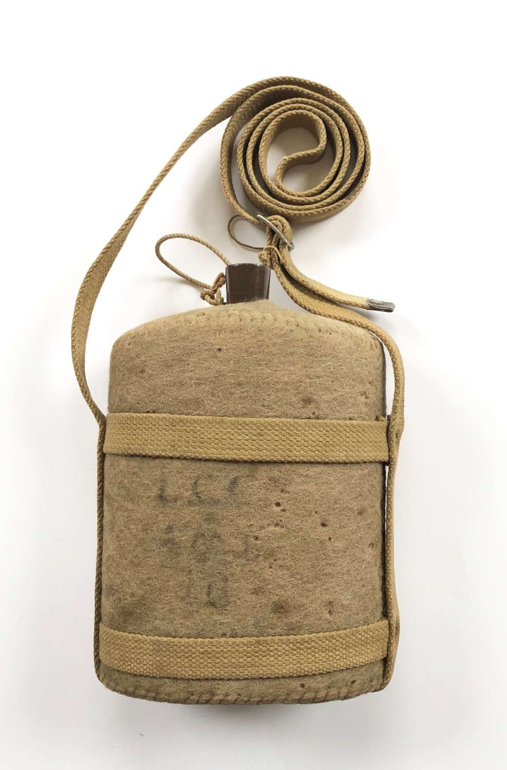 WW2 Home Front London County Council ARP Water Bottle.