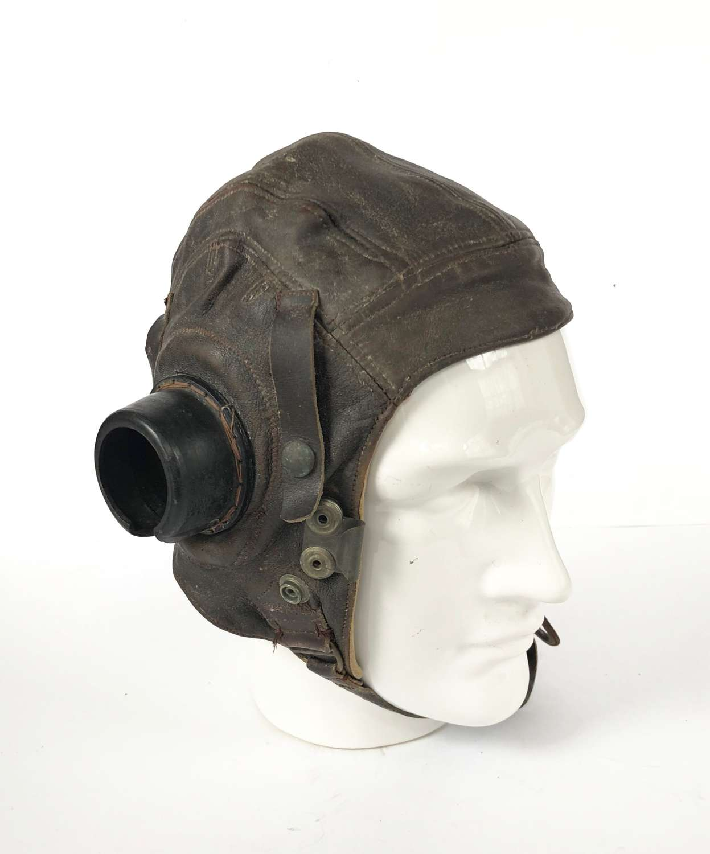 WW2 RAF 1st Pattern C Type Flying Helmet.
