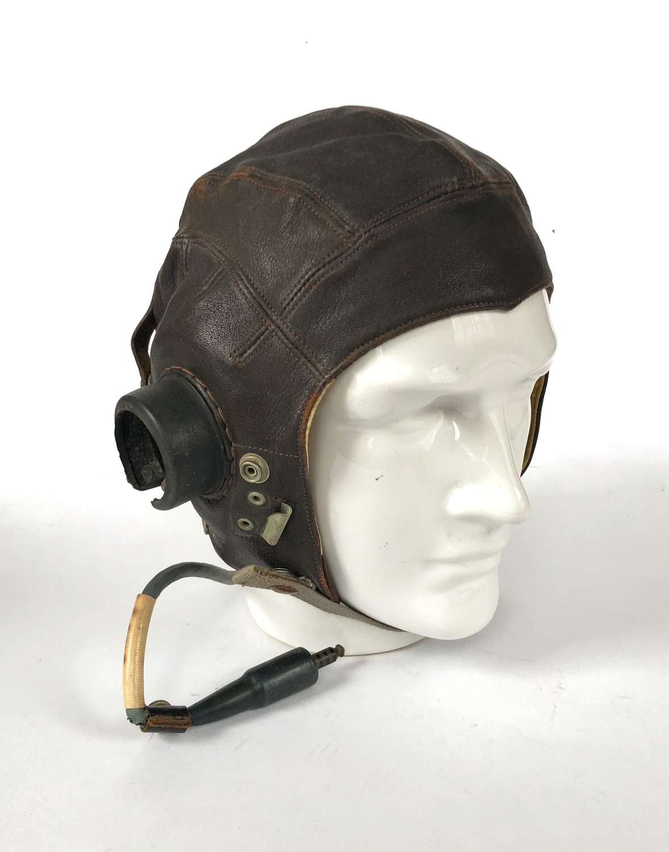 WW2 Pattern RAF C Type Flying Helmet.